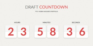 Download 20 Free Stunning CSS3 And JQuery Countdown Timer Scripts