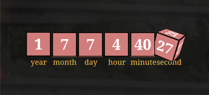 Download Free CountdownCube – jQuery Countdown Timer Plugin