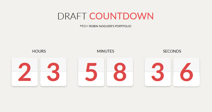 Draft Countdown Free