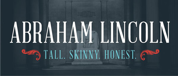 Free ABRAHAM LINCOLN Serif Font