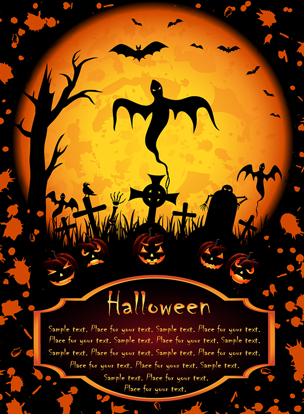free-vector-halloween-posters-element-vector_005681_halloween_posters_element_vector_1