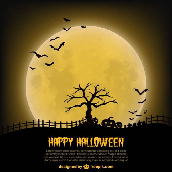 happy-halloween-poster-template-with-moon_23-2147497007