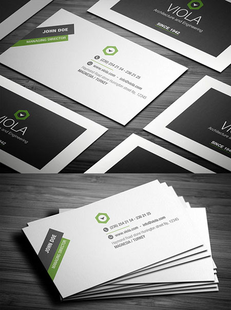 Real Estate Construction Business Cards 19