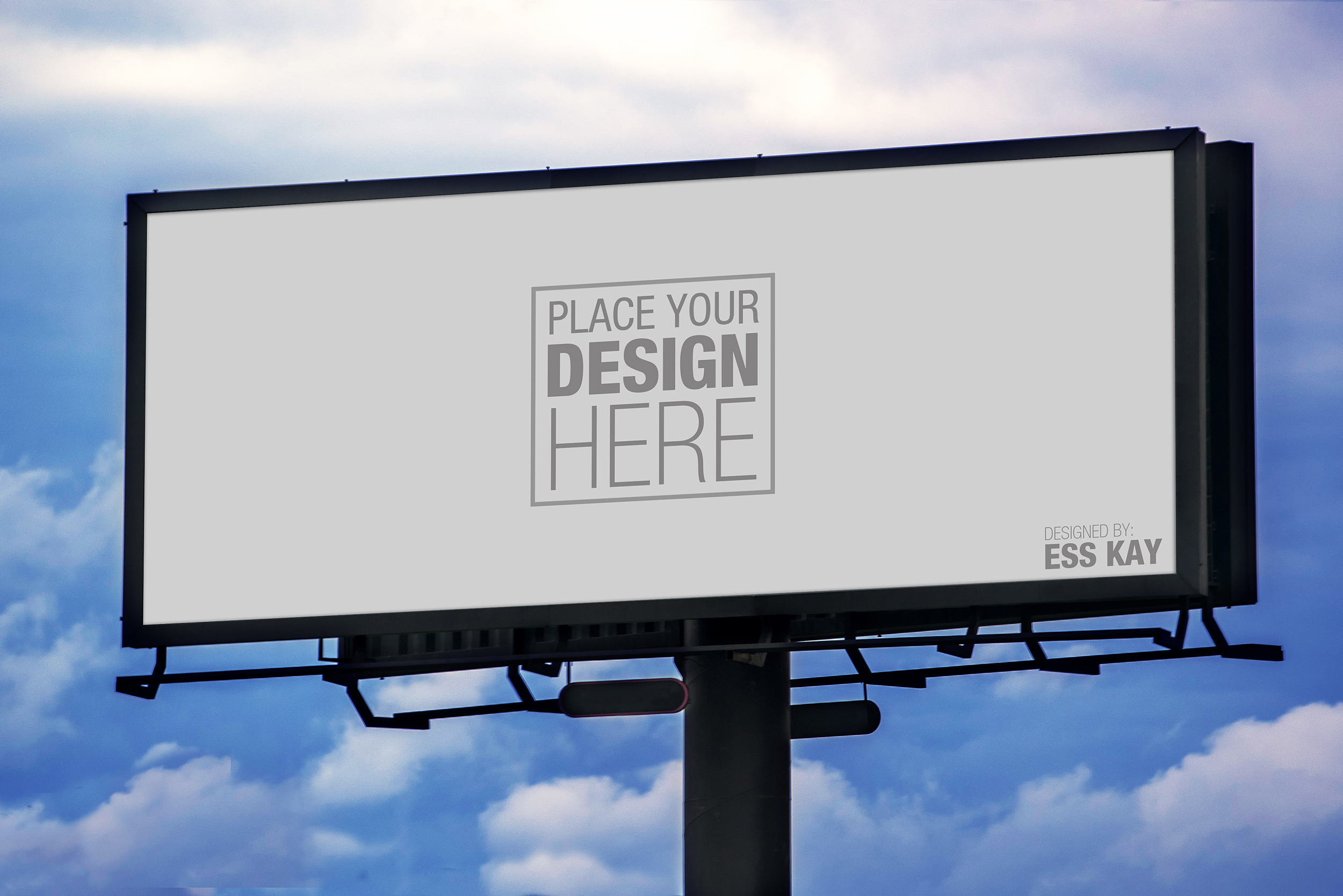Free Billboard Mockup A Graphic World