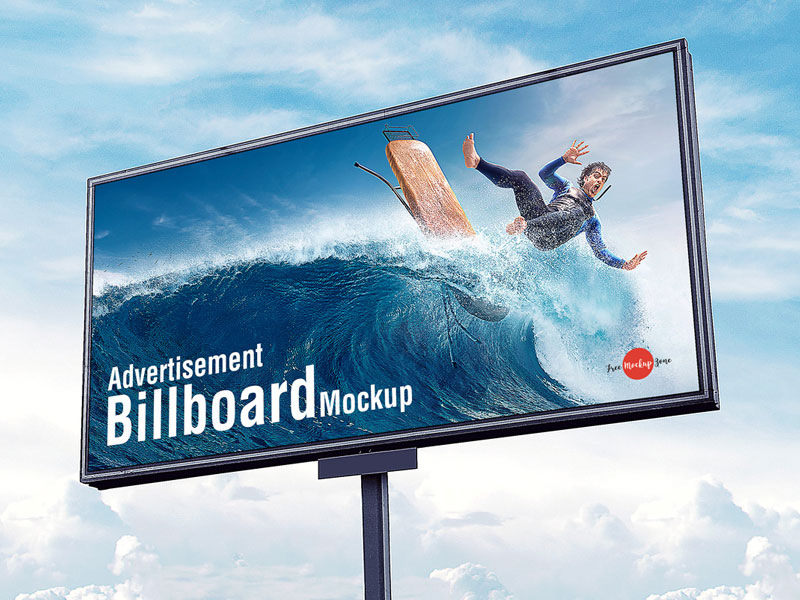 Free-Outdoor-Advertisement-Sky-Billboard-Mockup-PSD