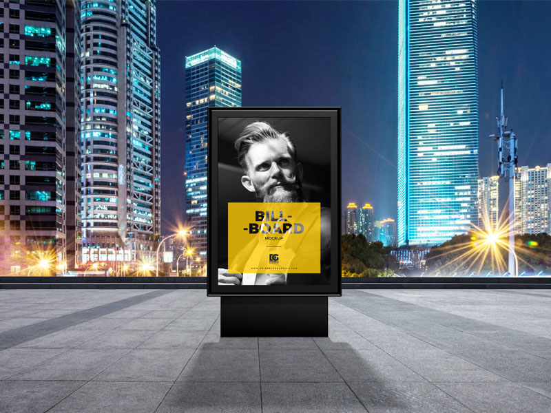 Free-PSD-Billboard-Mockup-Design-For-Outdoor-Advertisement