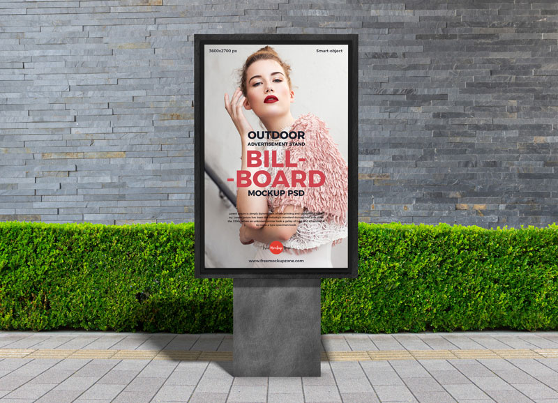 Free-PSD-Outdoor-Advertisement-Stand-Billboard-Mockup