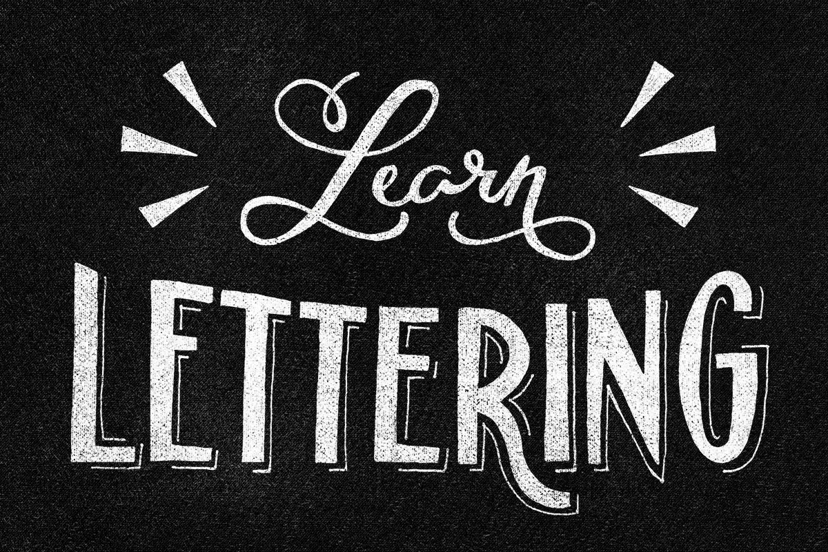 Learn Hand Lettering the Easy Way - YouTube
