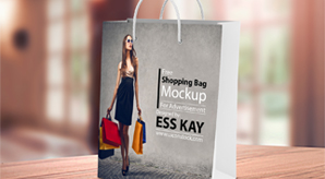 Download Free Shopping Bag Mockup Preview Image