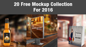 20 Free Latest Mockup Collection For 2016