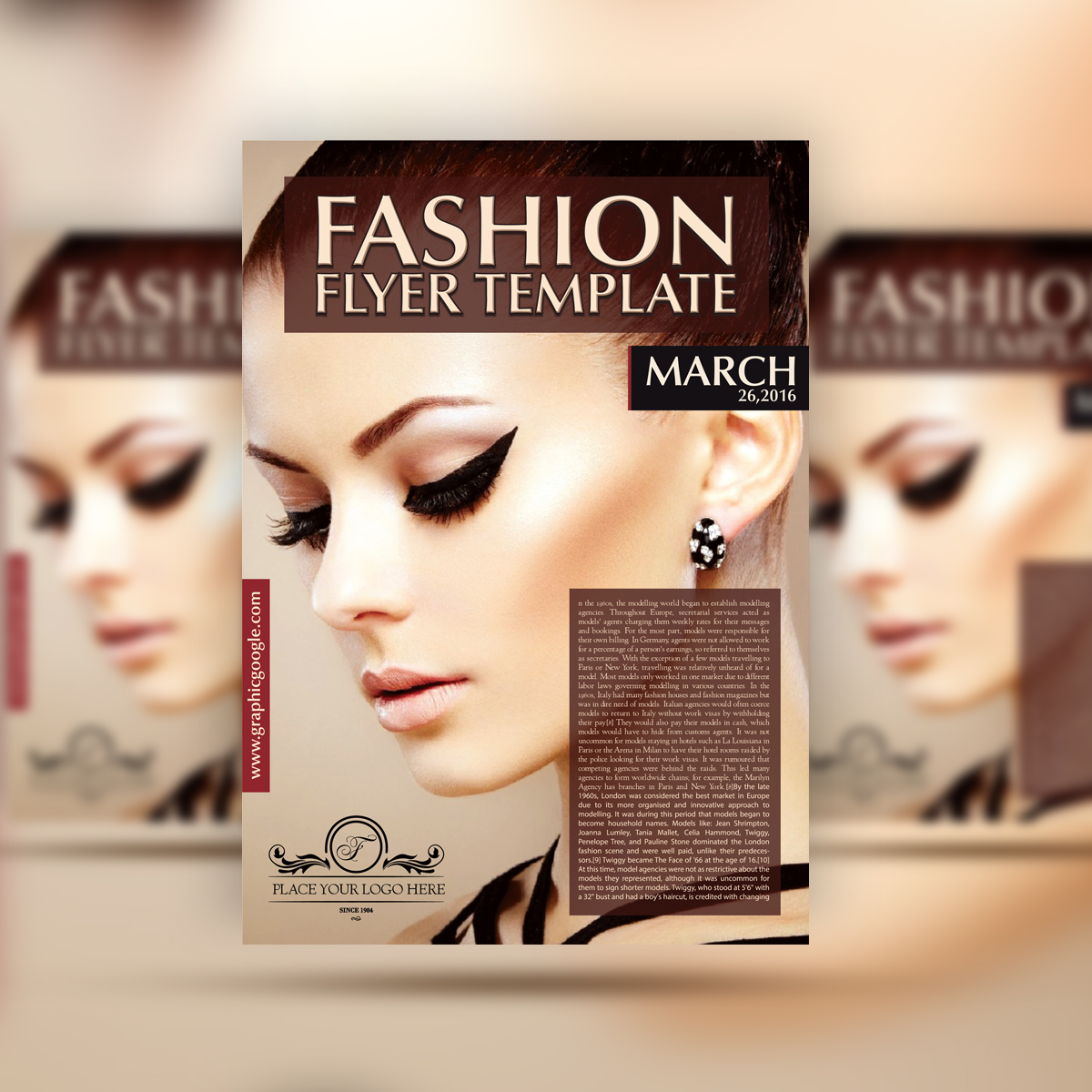 fashion flyers templates for free 30 free flyers templates designs for graphic designers