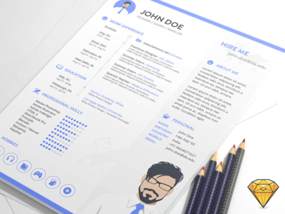 free-sketch-resume-template