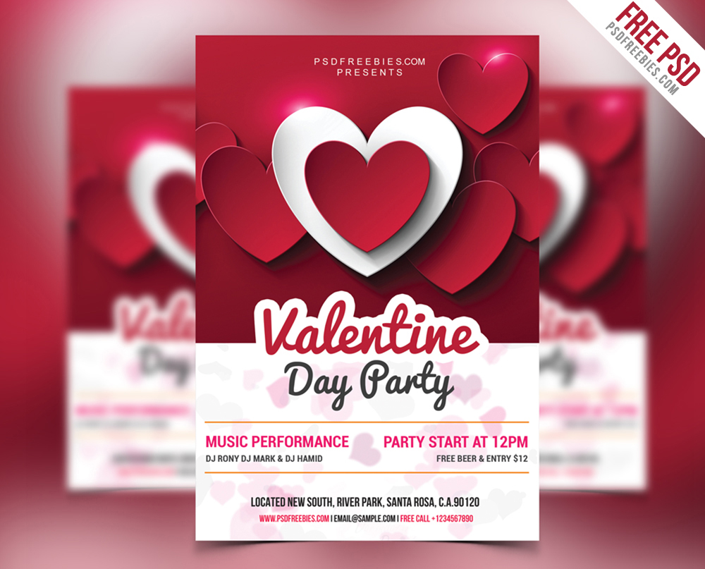Free-Valentine-Day-Party-Psd-Flyer-Download