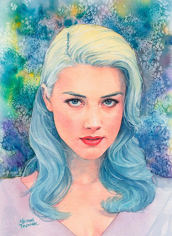 amber-heard-watercolor-illustration