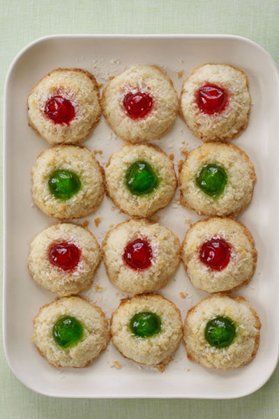 cherry-topped-coconut-macaroons