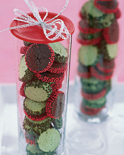 chocolate-peppermint-cookie-coins