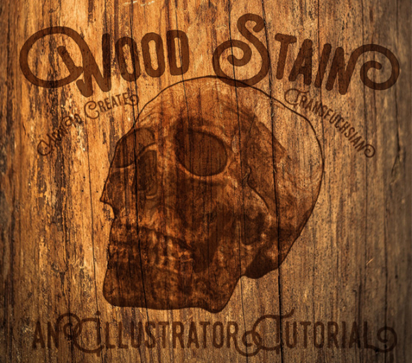 create-a-stained-wood-effect-in-illustrator