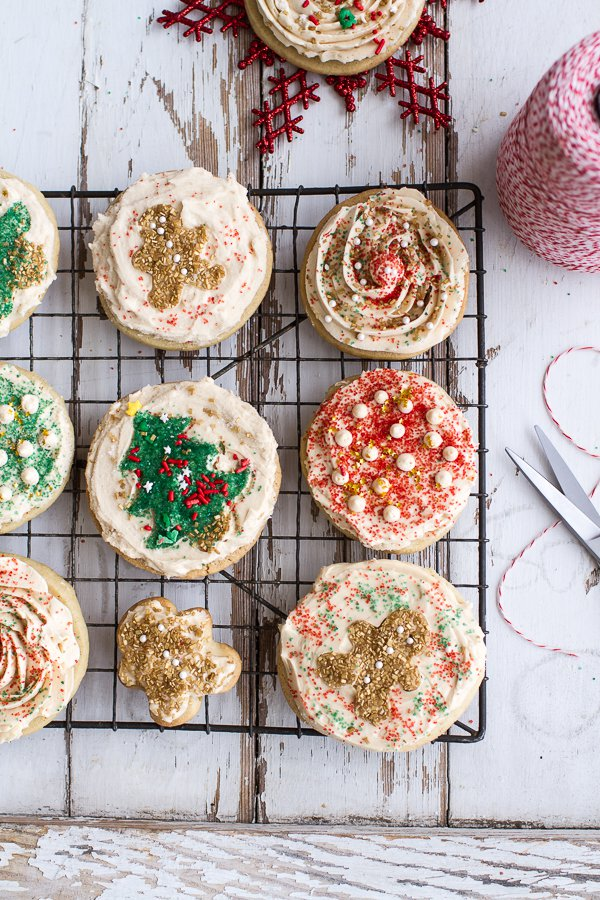 easy-slice-n-bake-vanilla-bean-christmas-sugar-cookies-with-whipped-buttercream-food