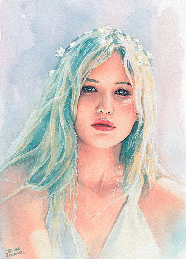 jennifer-lawrence-watercolor-illustration