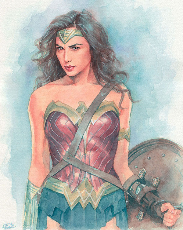 wonder-woman-watercolor-illustration