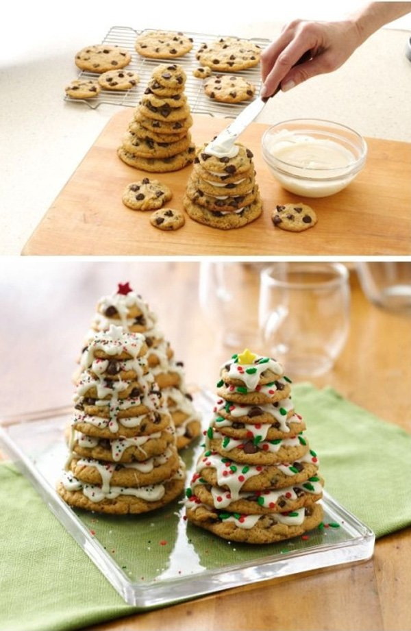 chocolate-chip-cookie-christmas-tree-food