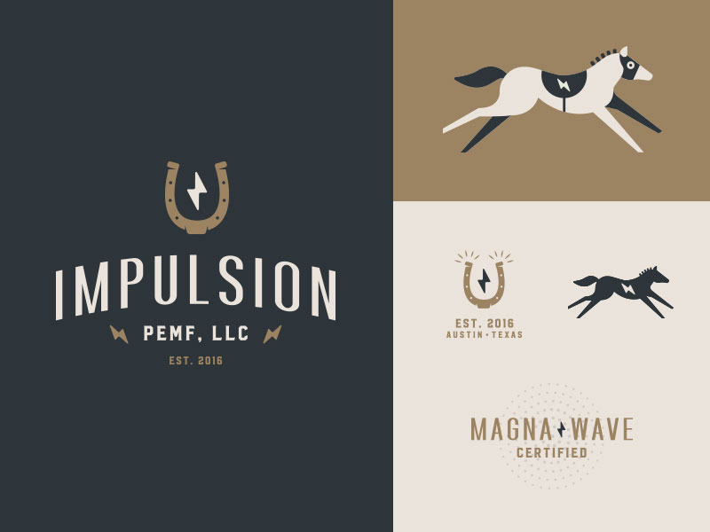 Impulsion-Horse-Logo-Design