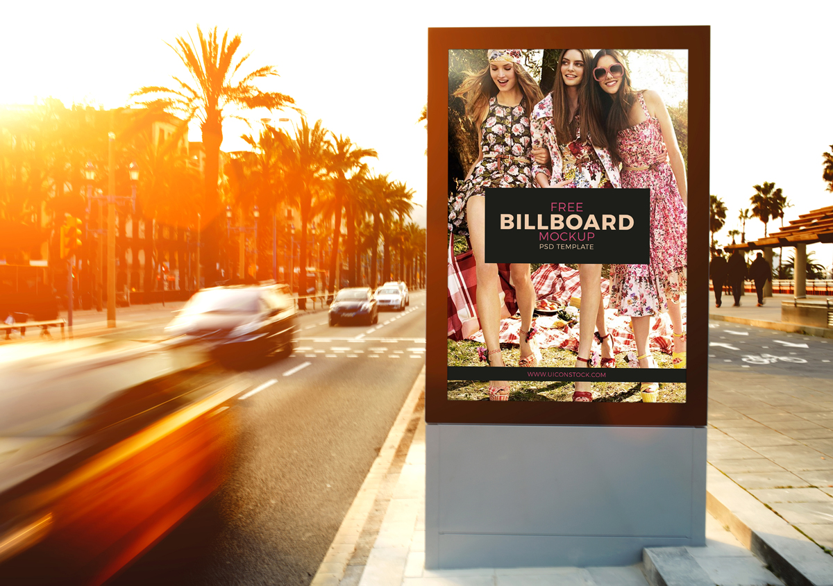 Free-Outdoor-Roadside-Billboard-MockUp-Psd-Template