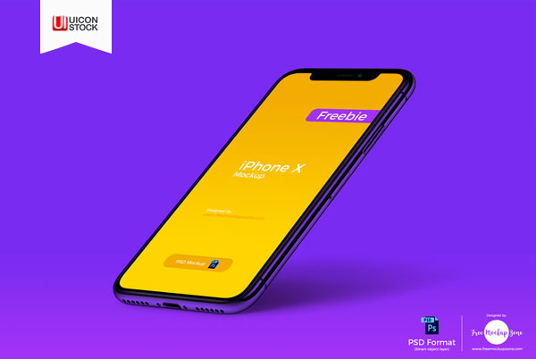 Free-iPhone-X-Perspective-PSD-Mockup-of-2018