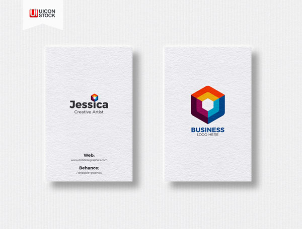 Free-2-Vertical-Business-Cards-Mockup-2018