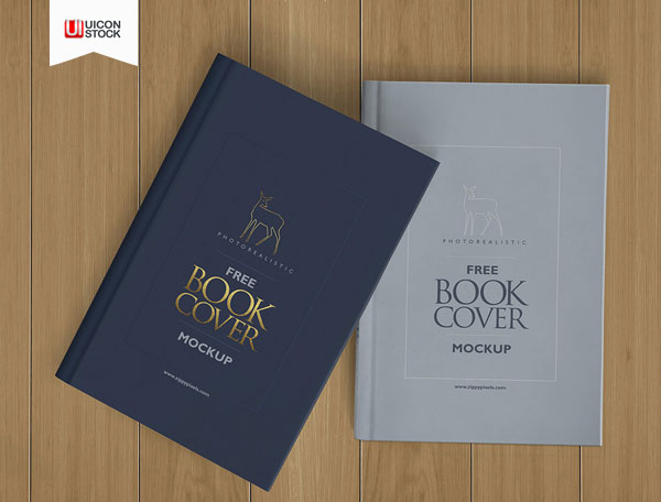 Free-Beautiful-Hardcover-Book-PSD-Mockup-2018