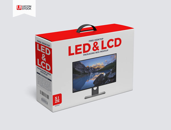 Free-Desktop-LCD-&-LED-Packaging-Box-with-Handle-Mockup-2018