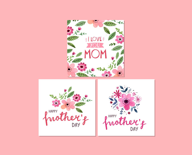 3-Cute-Watercolor-Mothers-Day-Cards