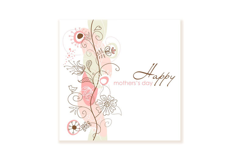 Floral-Hand-Drawn-Mother's-Day-Card