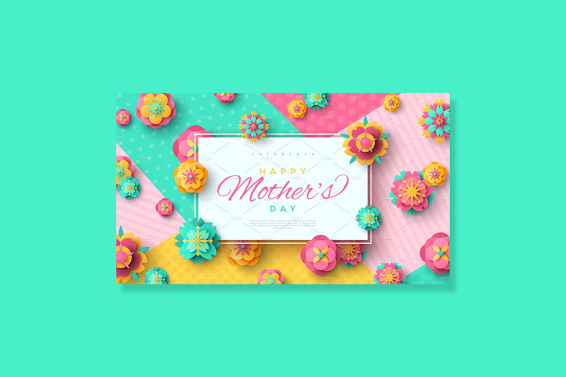 Mother's-Day-Card-with-Square-Frame