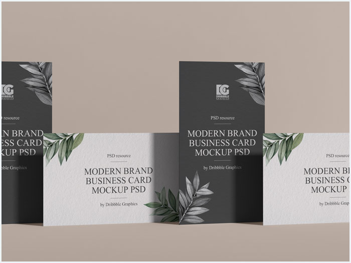 Free-Modern-Brand-Business-Card-Mockup