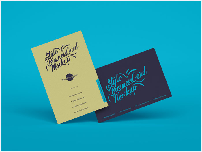Free-Stylo-Business-Cards-Mockup