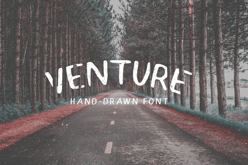 Venture---Hand-Drawn-Font-2018
