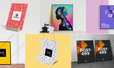 50 Free High Quality Poster Mockup Psd Files For All Designers