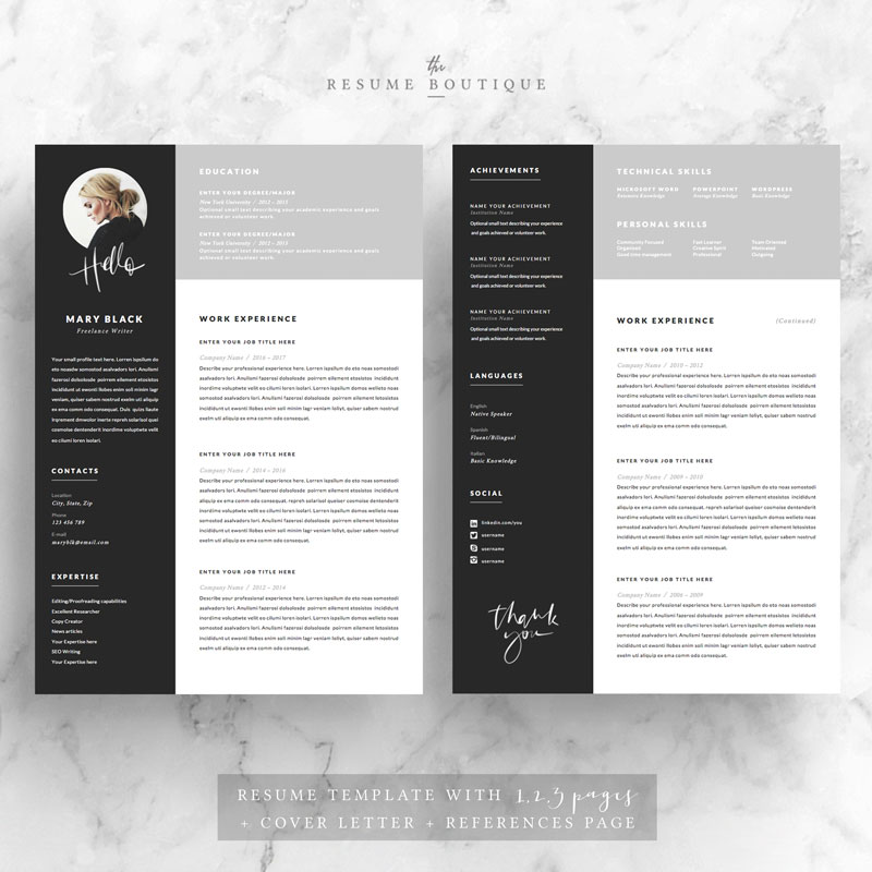 5-page-Resume-Template-Blackie