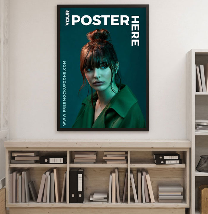 Creative-Interior-Poster-Mockup-For-Designers-2018