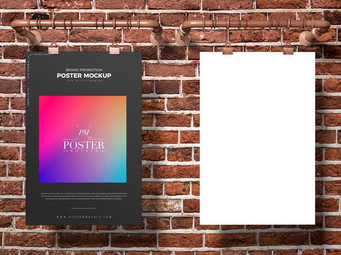 Free-Promotion-Poster-Mockup