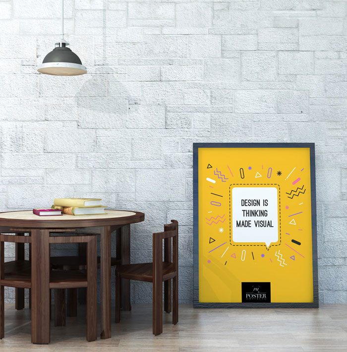 Gallery-Furniture-With-Poster-Mockup-PSD-on-Wooden-Floor