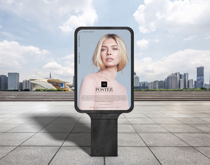 Modern-City-Outdoor-Advertisement-Billboard-Poster-Mockup-PSD