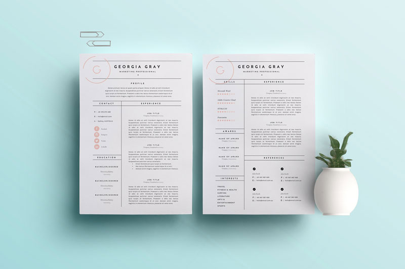 Resume-Template-3-Page