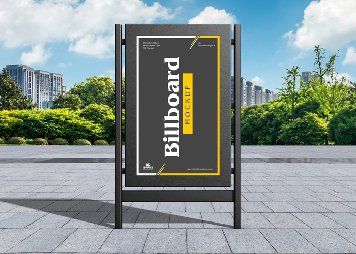 Free-City-Advertising-Billboard-Mockup