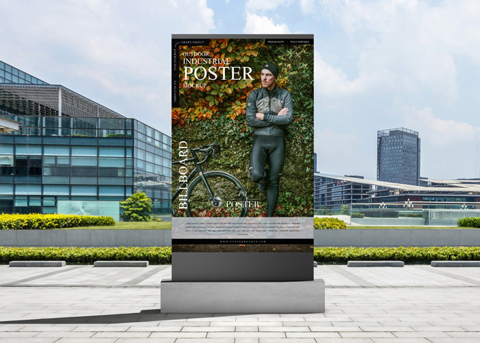 Free-Outdoor-Billboard-Poster-Mockup