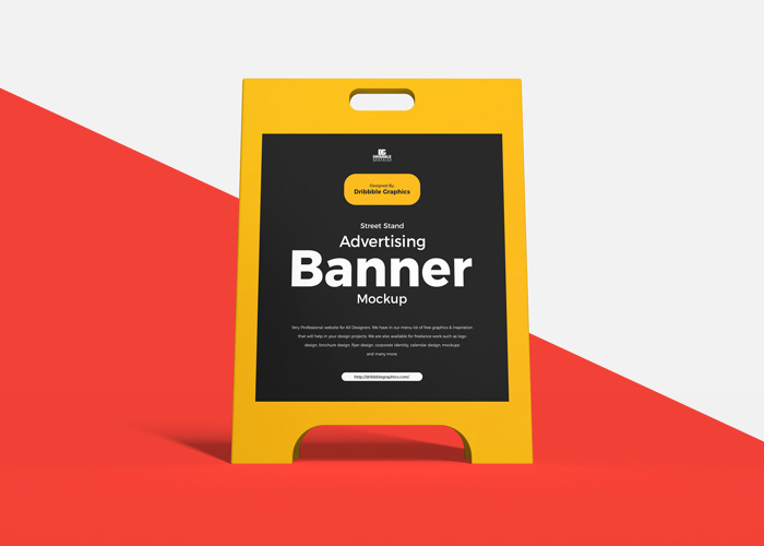 Free-Street-Stand-Banner-Mockup