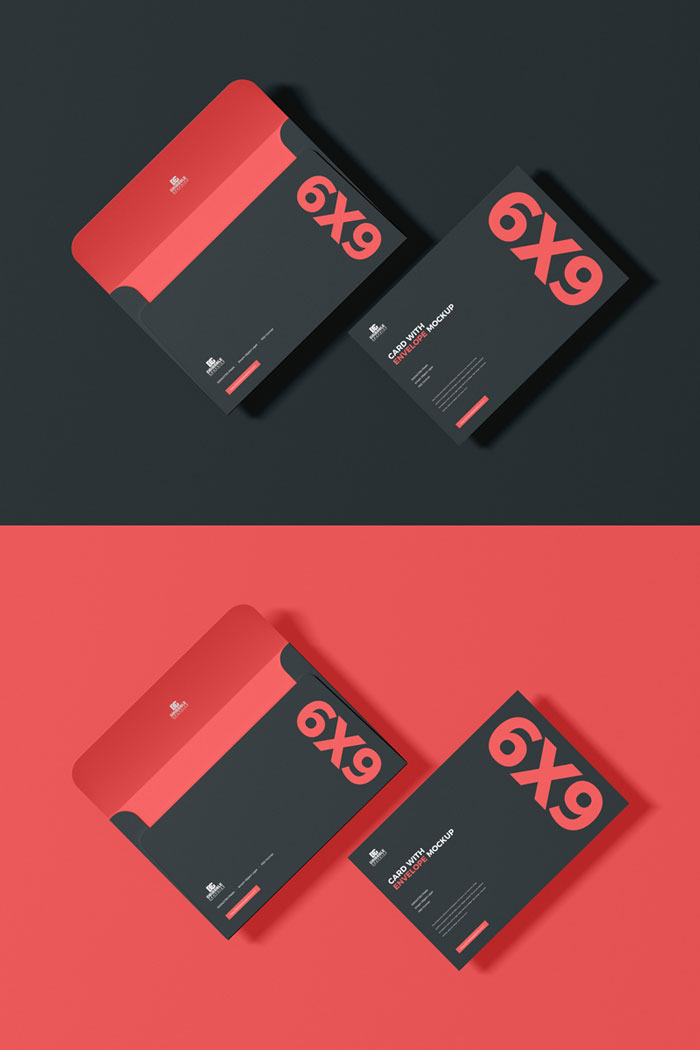 Free-Card-With-Envelope-Mockup-PSD