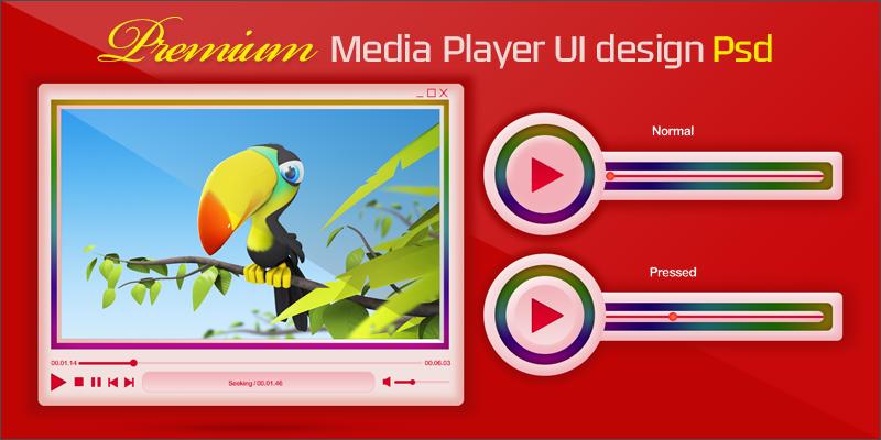 premium media player display