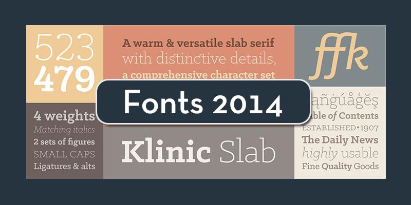 Best Fonts 2014